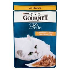 Purina Gourmet Perle Mini Fillets with Chicken - Pouch (85g) - Pack of 6