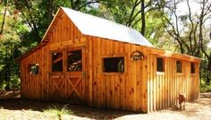 Daufuskie Island Conservancies Green Wood Farm Goat Barn