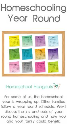 Homeschooling Year Round - don't miss these tips and tricks from experienced homeschooling families