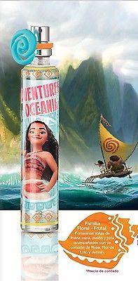 Moana Fragancia para niña 30 ml-1oz by Disney Autentic Moana Girl Fragance NEW