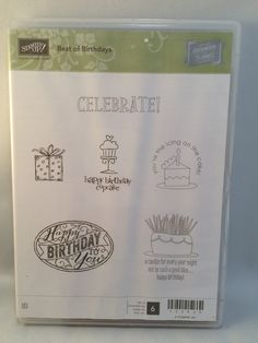 Best of Birthdays by Stampin Up by catscardsandcoffee on Etsy