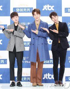 المؤتمر الصحفي للدراما القادمة Laughter In Waikiki   Kdrama Stars 1 Kim Joong Hyun, Jung Hyun, Kim Jung, Korean Drama Movies, Korean Actors, Korean Dramas, Korea Boy, Bts Korea, Asian Love