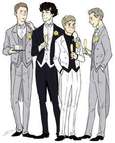 i hope this is not Johnlock... but its still nice art