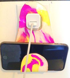 Create a simple & stylish holder for your phone while it's charging! Sculpey Oven-Bake Clay: http://canada.michaels.com/on/demandware.store/Sites-MichaelsCanada-Site/en_CA/Product-Show?pid=M10228277 Accent Paint: http://canada.michaels.com/on/demandware.store/Sites-MichaelsCanada-Site/en_CA/Product-Show?pid=M10198346 Minwax Polyurethane: https://www.homedepot.ca/en/home/p.polyurethane---satin.1000406386.html