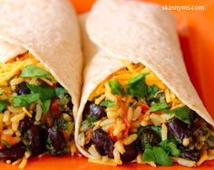 Grilled Chicken and Black Bean Burritos - These are the BEST and so easy to…