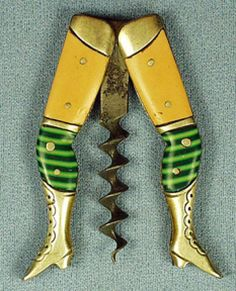 Lady's legs! I think I am going to start collecting old cork screws! Anyone have one of these?