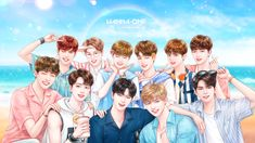 Wanna one (anime version) Xavier Rudd, Jinyoung, Haikyuu Season 2, Harry Potter Ships, Guan Lin, My Big Love, Anime Version, Fandom, Ong Seongwoo