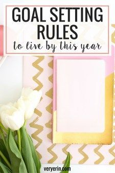 It's officially the season for setting goals and resolutions. As someone who loves personal development, it's one of my favorite times of year! Click through to read a few of my favorite goal setting rules to live by.