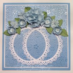 Baukje's Cards and Crafts: Flowers and Circles