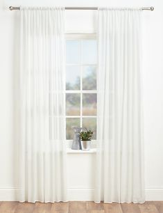 Sheer Voile Curtains