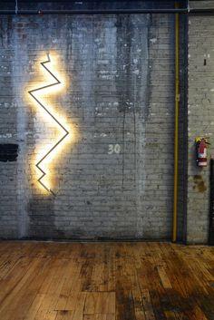 LED indirect light solid wood wall lamp BOLT SCONCE - @hollismorris