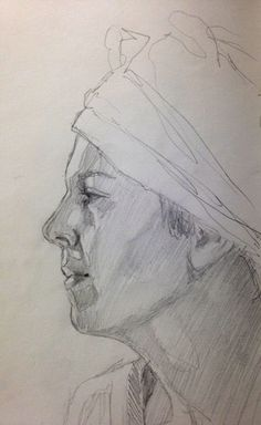 Great advice! Two Drawing Tips to Consider When Sketching Faces, by Jean Pederson at ArtistsNetwork.com #drawing #faces