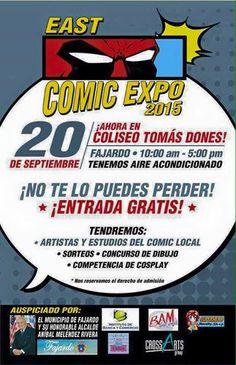 East Comic Expo 2015 #sondeaquipr #eastcomicexpo #coliseotomasdones #fajardo #convencionespr