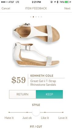 Stitch fix Kenneth Cole sandal  https://www.stitchfix.com/referral/3962543