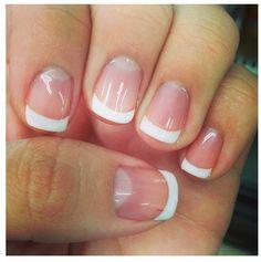 My first gel manicure :)