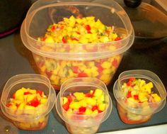 This recipe was posted on Qdobas website recently and I wanted to post it here.  This salsa is a sweet alternative to typical tomato-based salsas. The recipe is great year-round, although its best when mangoes are in season each May. It pairs well with seafood, poultry, or simple tortilla chips.