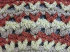 Crochet Stitch - V Stitch Tutorial