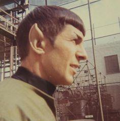 """He's really not dead as long as we remember him. Star Trek Cast, Star Trek Series, Star Trek Legacy, Star Trek Continues, Star Trek 1966, Avengers Images, Star Wars, Star Trek Original, Leonard Nimoy"
