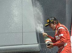 Silverstone F1 2011 Winners Podium Stainless Steel Balustrade