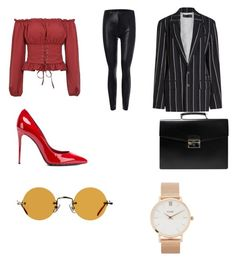 """Untitled #11"" by maria-daria-i on Polyvore featuring Dolce&Gabbana, Prada, Hakusan, CLUSE and Haider Ackermann"