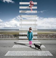 Ilusão e ótica: Criança atravessando a rua - http://www.facebook.com/photo.php?fbid=137379569773191=a.100195310158284.6.100182186826263=1=nf - 602049_137379569773191_395208821_n.jpg (600×625)