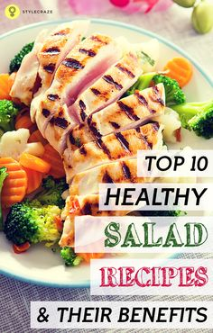 Salads keep you healthy! How about trying something interesting than the very same boring salads? Here are the best healthy salad recipes ...