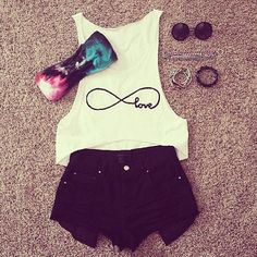Spring Outfits for Teens Cute Summer Outfits, Outfits For Teens, Spring Outfits, Winter Outfits, Casual Outfits, Summer Clothes, Casual Shoes, Rock Outfits, Emo Outfits