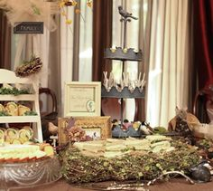 Party Frosting: Baby Bird shower ideas/inspiration