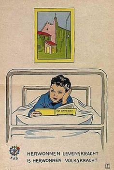 Affiche van De vereniging Herwonnen Levenskracht.