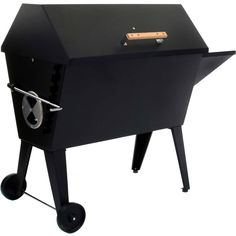 Large Cajun Grill Charcoal Grill/Smoker Made by Percy Guidry Manufacturing - Cajun Grill - Charcoal #PinMyDreamBackyard