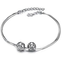 Virgin Shine Platinum Plated Hollow Double Balls Anklet VIRGIN SHINE http://www.amazon.com/dp/B00MFVG0I8/ref=cm_sw_r_pi_dp_W.EQub0D4T7PE