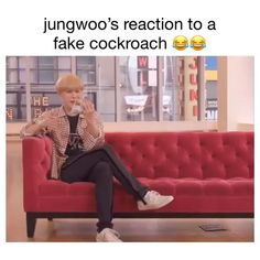 Jungwoo's reaction to a fake cockroach 127 boi of all time Lucas Nct, Nct 127, Day6 Sungjin, Kim Jung Woo, Motivational Quotes For Women, All Meme, Young K, Nct Life, Jackson