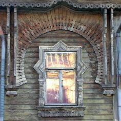 Poska street, Kadriorg Park, Tallin, Estonia: one of the few russian-style wooden architecture examples