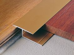 Terminal edge profile for wooden and laminate floors WOODTEC LG by PROFILITEC