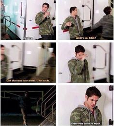 Lol... Love Void Stiles - Teen Wolf