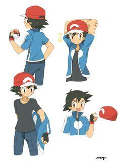Ash - Pokémon