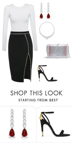 """""""Untitled #47"""" by jasmineshanelle ❤ liked on Polyvore featuring Allurez, Tom Ford, LC COLLECTION and Chanel"""