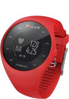 Polar M200 GPS running watch with wrist-based heart rate Black or white  Medium/large bracelet