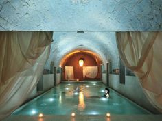 thermes de spa, complexe de luxe eau curative à Zurich