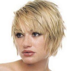 Short feathered haircuts