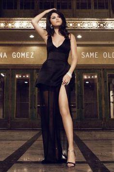 Selena Gomez wearing Giuseppe Zanotti Patent/Metallic Ankle-Wrap Sandals