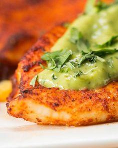 Chili Lime Tilapia with Avocado Crema | This Chili Lime Tilapia With Avocado Crema Is The Best Dinner Ever