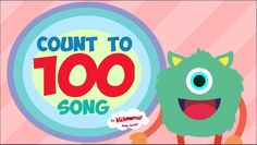 Count to 100 Song for Kindergarten.  A FUN way to practice counting numbers 1-100!  #kidsmusic #kindergarten