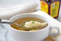 Austrian Recipes, German Recipes, Strudel, Soup, Ethnic Recipes, Gnocchi, Diabetes, Soups And Stews, Food And Drinks