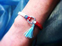 Macrame Bracelets, Handmade Bracelets, Baba Marta, Diy Jewelry, Jewellery, Evil Eye Jewelry, Minimalist Jewelry, Friendship Bracelets, March