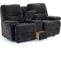 Rocker recliner loveseat with console  sc 1 st  Pinterest & Remarkable Reclining Loveseat With Console: Ruddick Contemporary ... islam-shia.org