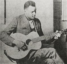 Scrapper Blackwell - self-taught acoustic guitar picker best known as compatriot of blues pianist Leroy Carr, with whom he cut over 100 sides in the twenties and thirties. Famous African Americans, Delta Blues, Little Boy Blue, Country Blue, Blues Music, Down South, Popular Music, Music Artists, Rock And Roll