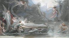 Maximilián Pirner, Funeral of Fairies (Pohřeb víly); 1888