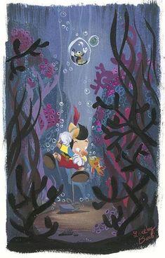 Pinocho by Lorelay Bové. ¿Por qué nos gustan las películas de Disney?
