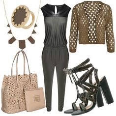 Olive  #fashion #mode #look #outfit #style #stylaholic #sexy #dress